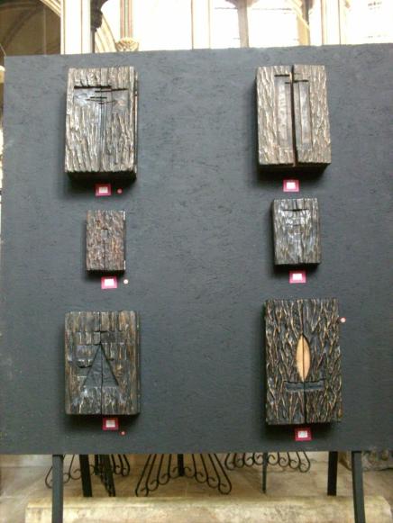 Edward A Robinson - Triptychs closed